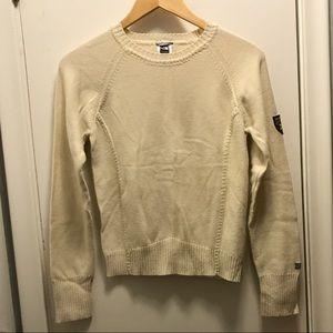 The North Face Cream Sweater Size Small